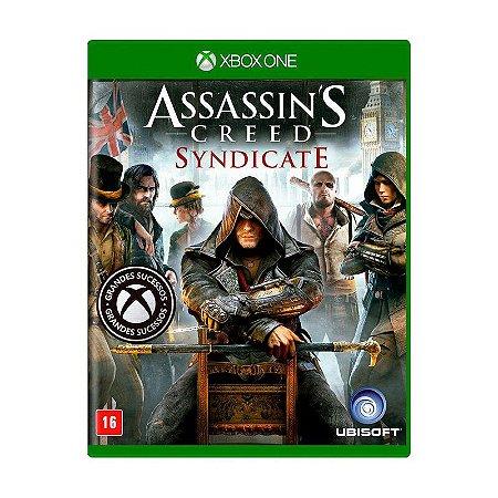 Assassins Creed Syndicate Semi Novo - Xbox One