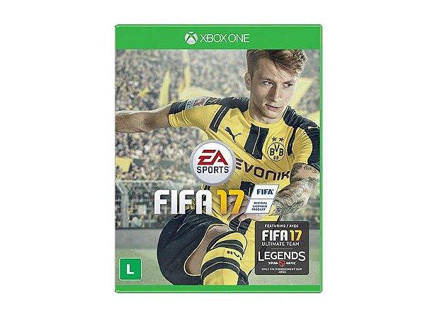 Fifa 2017 Semi Novo - Xbox One