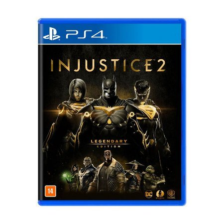 INJUSTICE 2 :LEGENDARY EDITION PS4