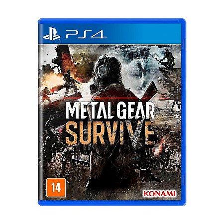 Metal Gear Survive PS4 (Semi Novo)