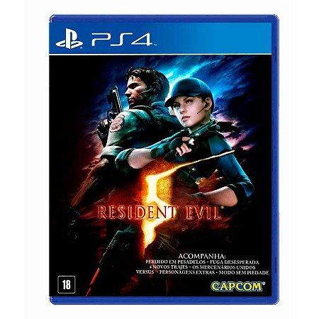 Resident Evil 5 PS4 (Semi Novo)