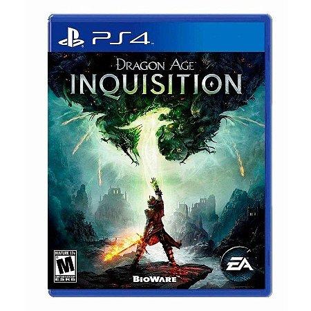 Dragon Age : Inquisition - Semi Novo PS4