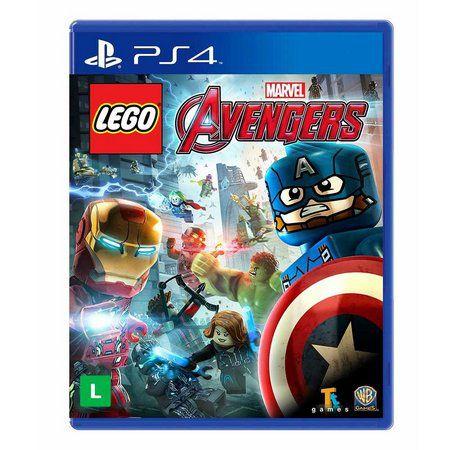 Lego: Vingadores - Semi Novo PS4