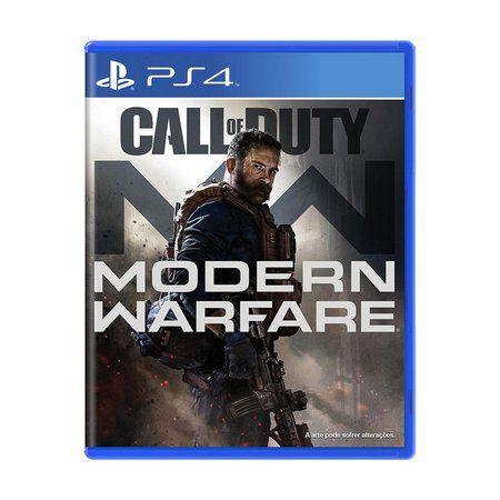 Pré-Venda Call Of Duty Modern Warfare PS4
