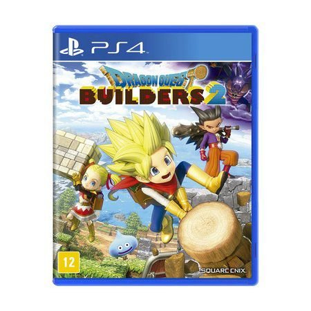 Pré-Venda Dragon Quest Builders 2 PS4