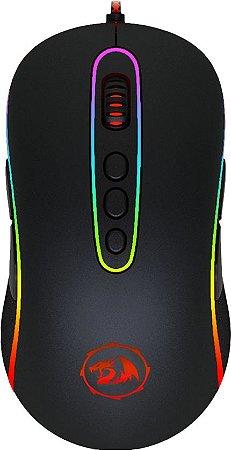 MOUSE GAMER REDRAGON PHOENIX PRETO COM LED RGB M702-2