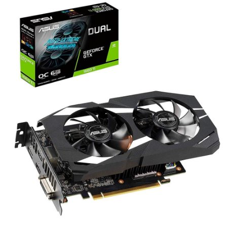 GPU NV GTX1660TI 6GB D6 PH-GTX1660TI-O6G ASUS 90YV0CT0-M0NA00