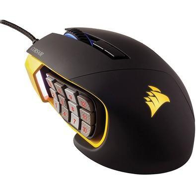Mouse Corsair SCIMITAR Yellow