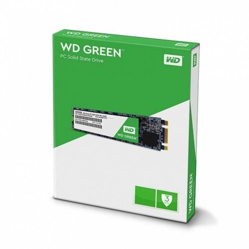 SSD WD Green, 480GB, M.2, Leitura 545MB/s, WDS480G2G0B