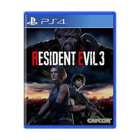 Prê-Venda do Resident Evil 3 para PS4
