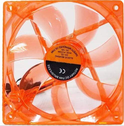 Cooler para Gabinete DEX, Laranja, 120mm, Gamer, DX-12l - 6955581350676