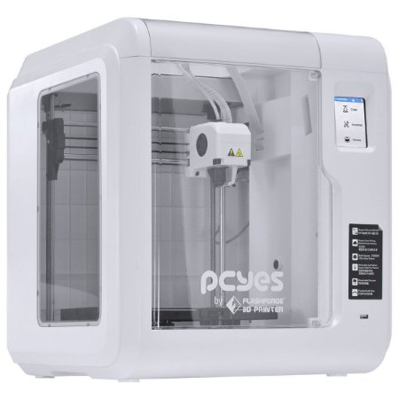 Impressora 3D Faber S, USB, SD, Fechada, Wifi, Touch, Branca - 7908020911876