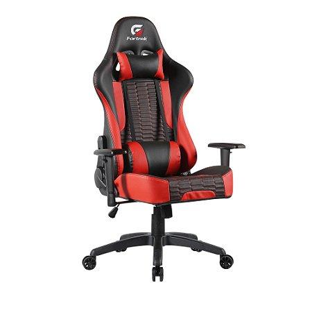 Cadeira Gamer Fortrek, Cruiser, Preta/Vemelha, Reclinavel - 7898554606549
