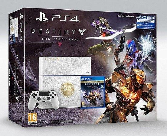 Playstation 4 - 500GB Edição limitada Bundle Destiny: The Taken King 1215A