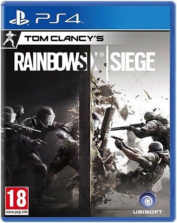 Jogo Rainbow Six Siege - PS4 - PLAY 4 - PLAYSTATION 4