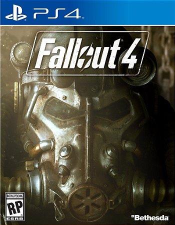 Jogo Fallout 4 - PS4 - RPG  - PLAY 4 - PLAYSTATION 4