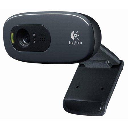 WEBCAM C270 CAPTURA EM HD 720P - 960-000947 - LOGITECH