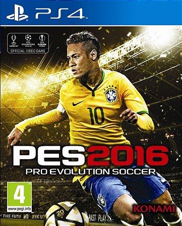 Pro Evolution Soccer 2016 - PES 2016 - Futebol - PS4