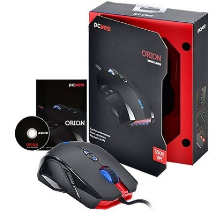 Mouse Gamer Pcyes Orion 3500Dpi - USB