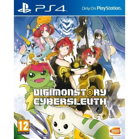 Jogo Digimon Story: Cyber Sleuth - PS4 - PLAY 4 - PLAYSTATION 4 - Aventura (USADO)
