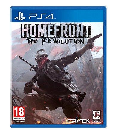 Jogo Homefront: The Revolution - PS4 - PLAY 4 - PLAYSTATION 4 - FPS/Suspense
