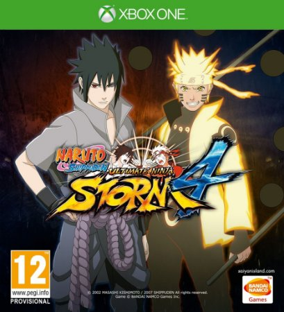 Jogo Naruto Shippuden: Ultimate Ninja Storm 4 - XBOX ONE - XONE - Luta/Aventura