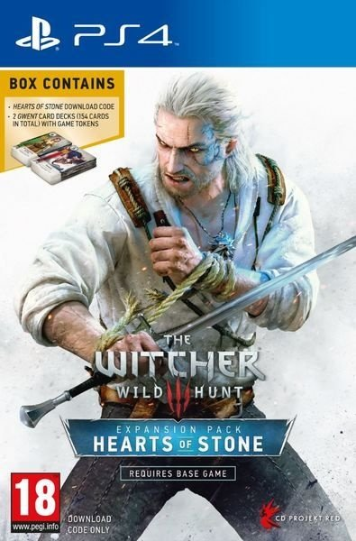 Jogo The Witcher 3 Expasion Pack: Hearts of Stone - PS4 - PLAY 4 - PLAYSTATION 4 - RPG/Aventura