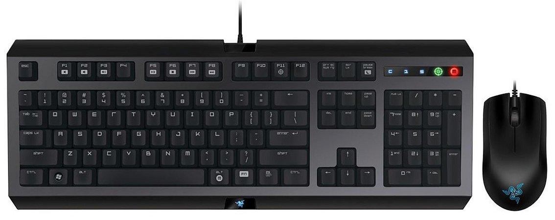 Teclado e Mouse Gamer Razer Cyclosa Abyssus 1800DPI