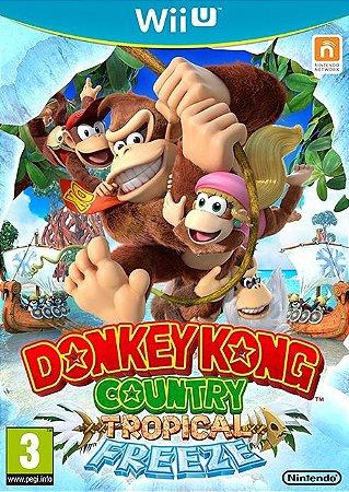 Jogo Donkey Kong Country: Tropical Freeze - Aventura - Wii U