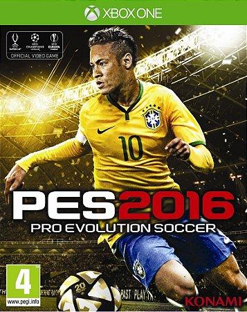 Jogo PRO EVOLUTION SOCCER 2016 - PES 2016 - FUTEBOL - Xbox One