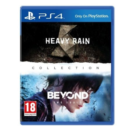 JOGO HEAVY RAIN AND BEYOND TWO SOULS COLLECTION - Aventura/ação - PS4 - PLAY 4 - Playstation 4