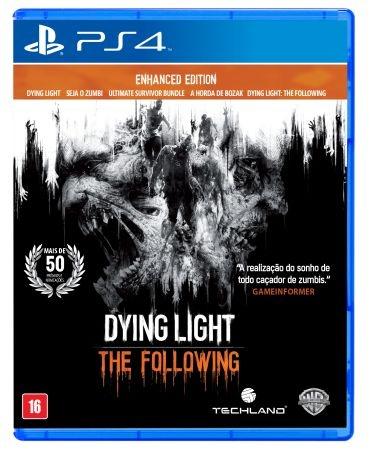 JOGO DYING LIGHT: THE FOLLOWING - PS4 - PLAY 4 - PLAYSTATION 4 - Sobrevivência