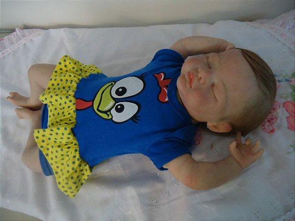 bebe Reborn Kate com 52 cm e 2,4 kg aproximadamente