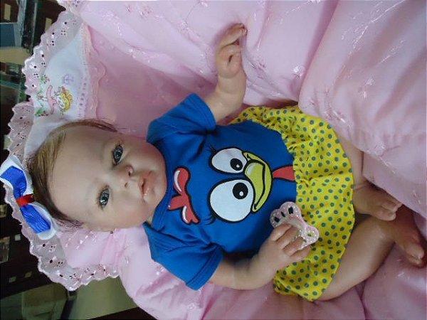 bebezinha reborn com 2,1 kg e 51 cm aproximadamente