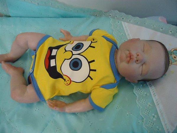 Lindo bebê reborn com 2,18 kg e 52 cm apoximadamente