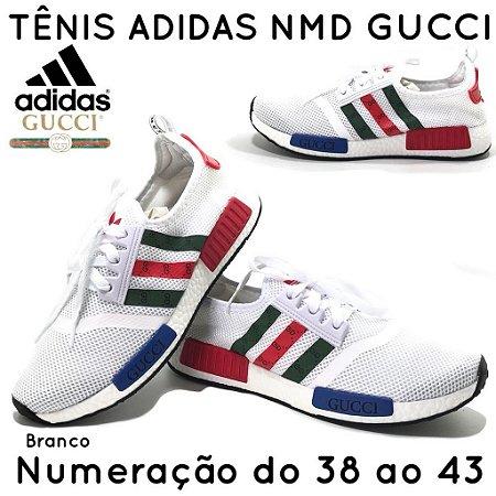 7859676d5 Tênis Adidas NMD Gucci Preto e Branco - Loja da Kuka - Aonde a Kuka ...