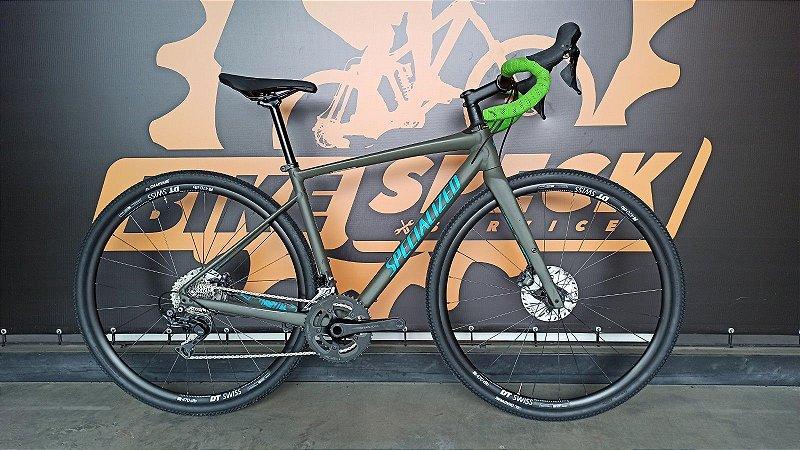 Bicicleta Specialized Diverge E5 Comp - 54 com Upgrades