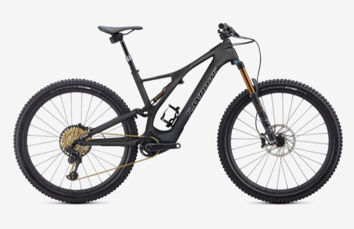 Specialized Levo a E-Bike que anda na frente !