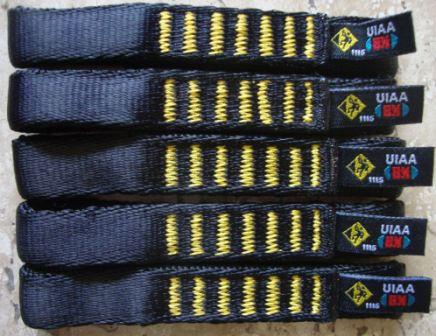 14 Fitas Expressa 11 cm UsClimb p/ Costuras - UIAA  22 Kn - Escalada - Frete Grátis