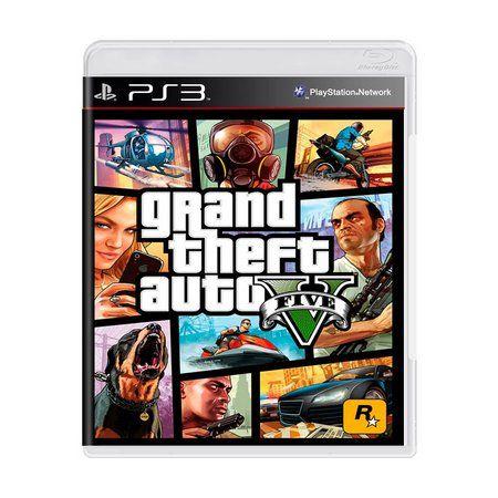 Jogo GTA5 Grand Theft Auto V - Ps3