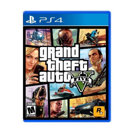 Jogo Grand Theft Auto V GTA 5 - PS4