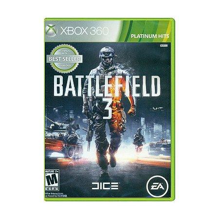 Jogo Battlefield 3 Platinum Hits - Xbox 360