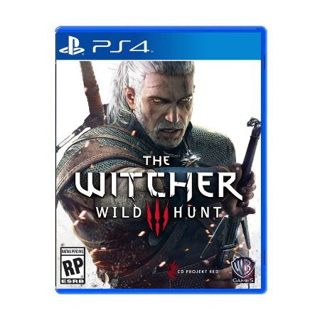 Jogo The Witcher 3: Wild Hunt - PS4