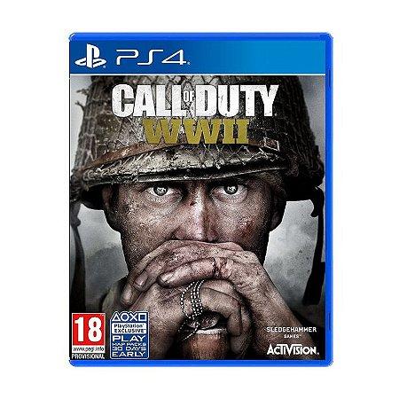 Jogo Call of Duty: World War II (WWII) - PS4