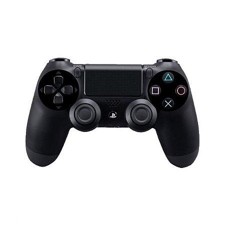 Controle Sony Dualshock 4 Preto - PS4