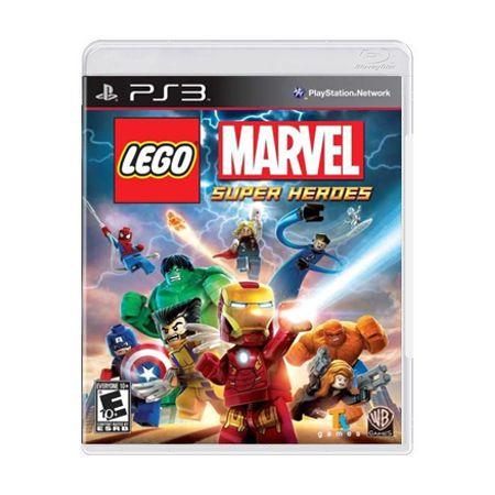 Jogo LEGO Marvel Super Heroes - PS3