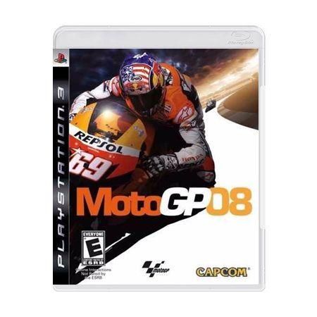 Jogo Moto GP 08 - PS3