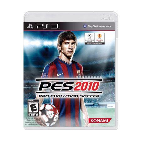 Jogo Pro Evolution Soccer 2010 - PS3