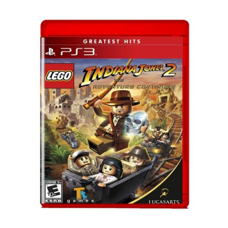 Jogo Lego Indiana Jones 2 The Adventure Continues - PS3