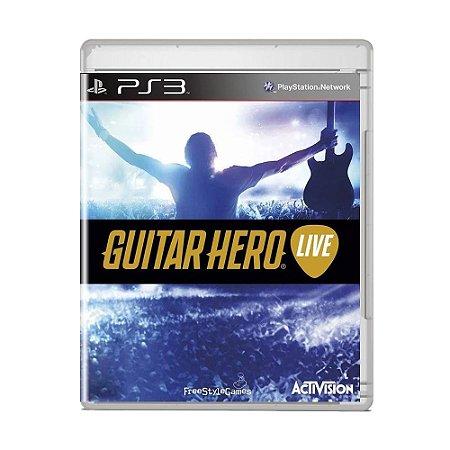 Jogo Guitar Hero Live - PS3